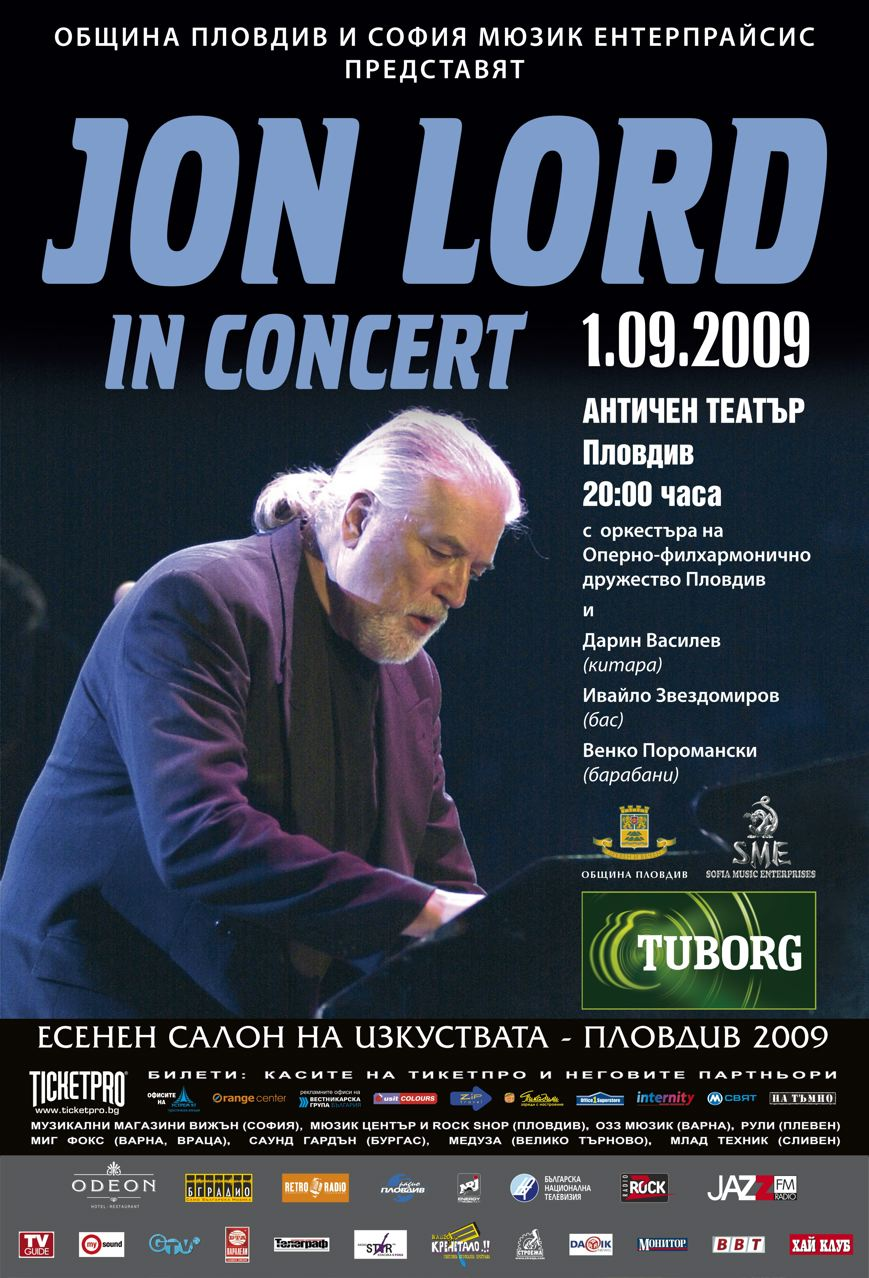 Jon Lord in Concert